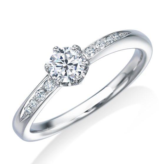 シンプル 婚約指輪の17EN39