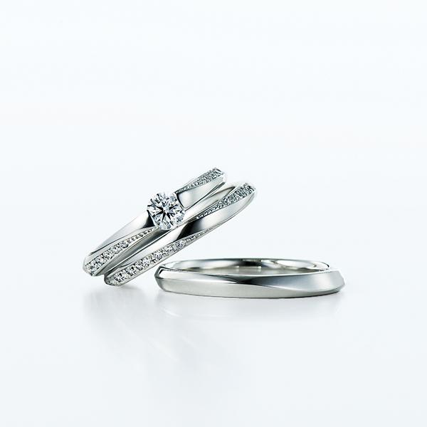 フェミニン 婚約指輪のSheat
