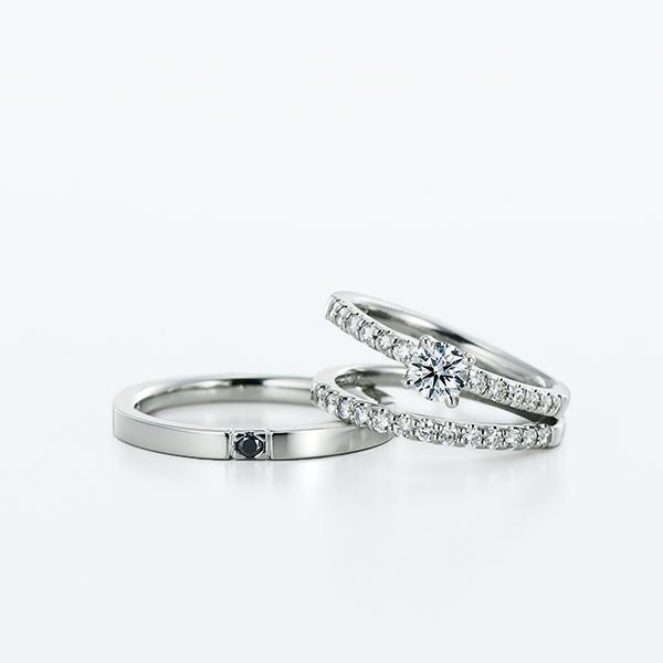 シンプル,フェミニン 婚約指輪のVega