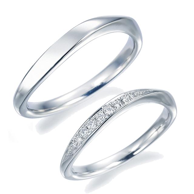 シンプル 結婚指輪の10WR05/10WR07