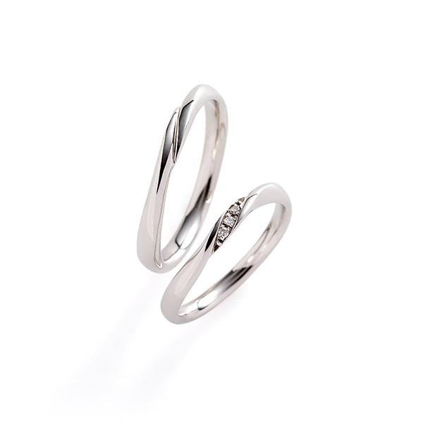 フェミニン 結婚指輪のcalm
