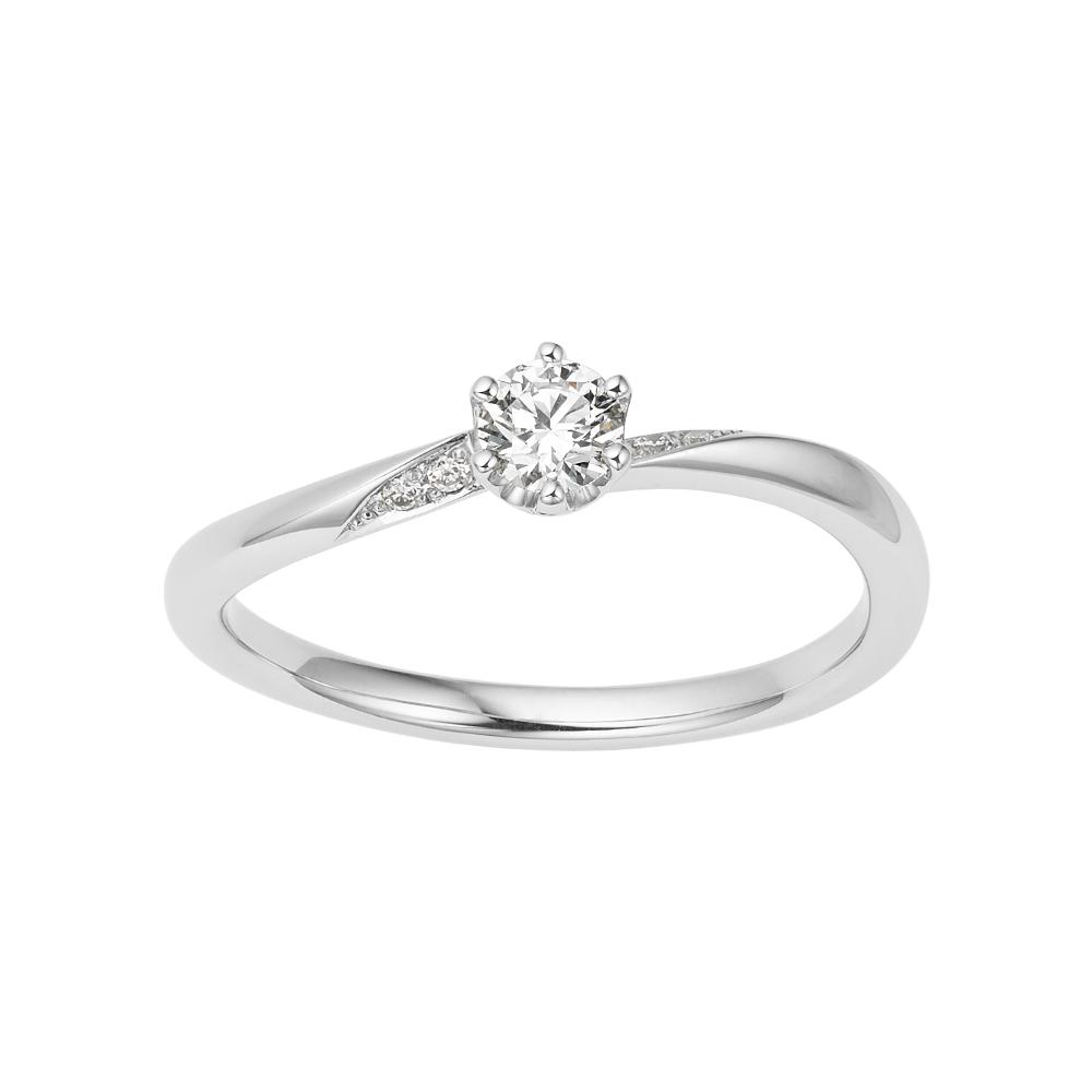 シンプル 婚約指輪のBREZZA