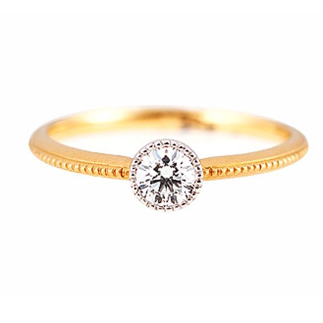 フェミニン 婚約指輪のGISEL