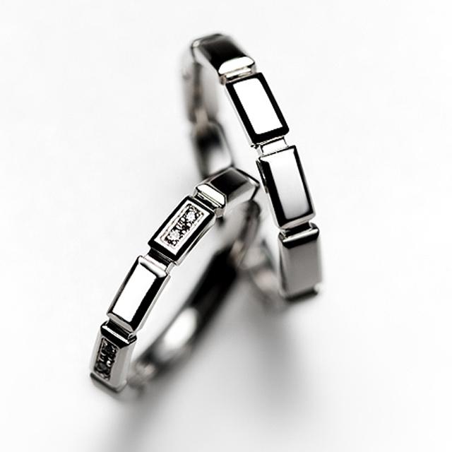 フェミニン 結婚指輪のFinancier