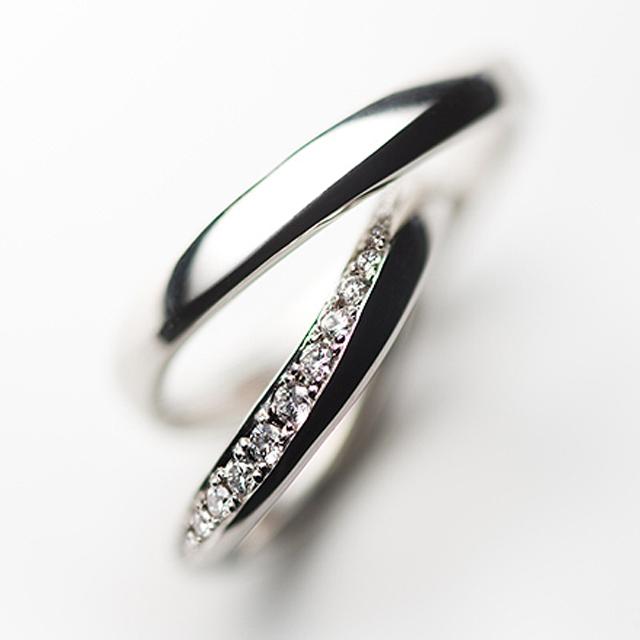 フェミニン 結婚指輪のPalmier