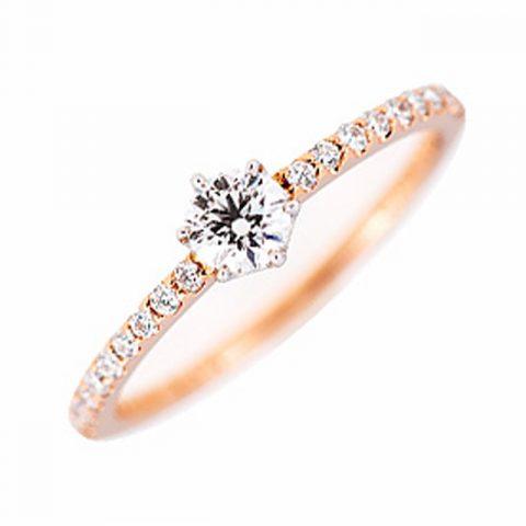 ゴージャス 婚約指輪のRosa