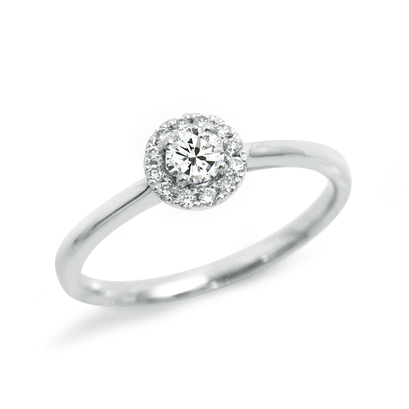 シンプル,フェミニン 婚約指輪のLP04800