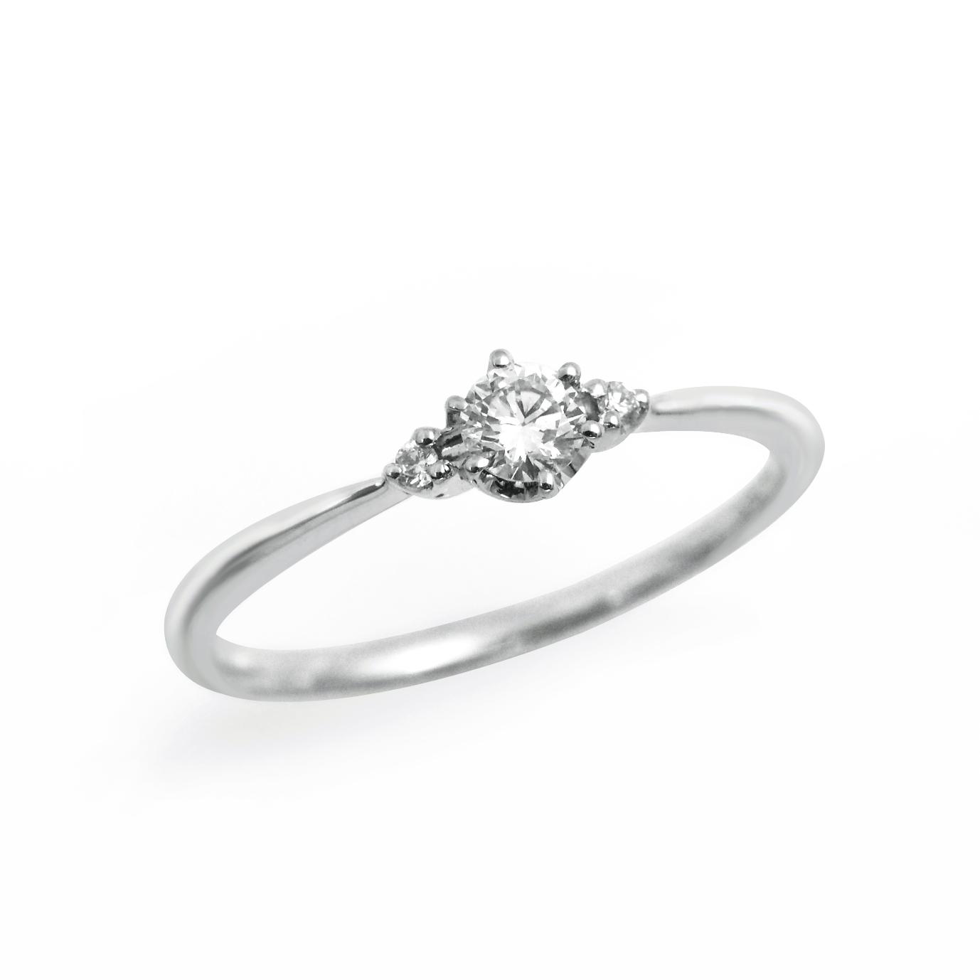 シンプル,フェミニン 婚約指輪のLP03288