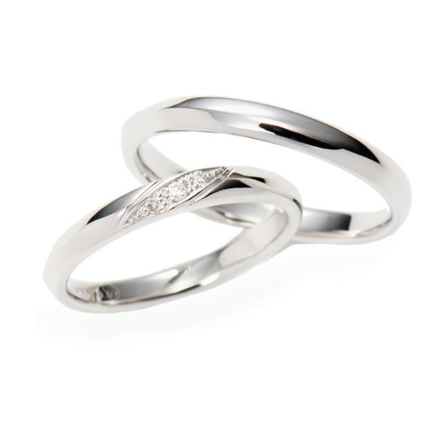 シンプル 結婚指輪のDR113020/DR114000