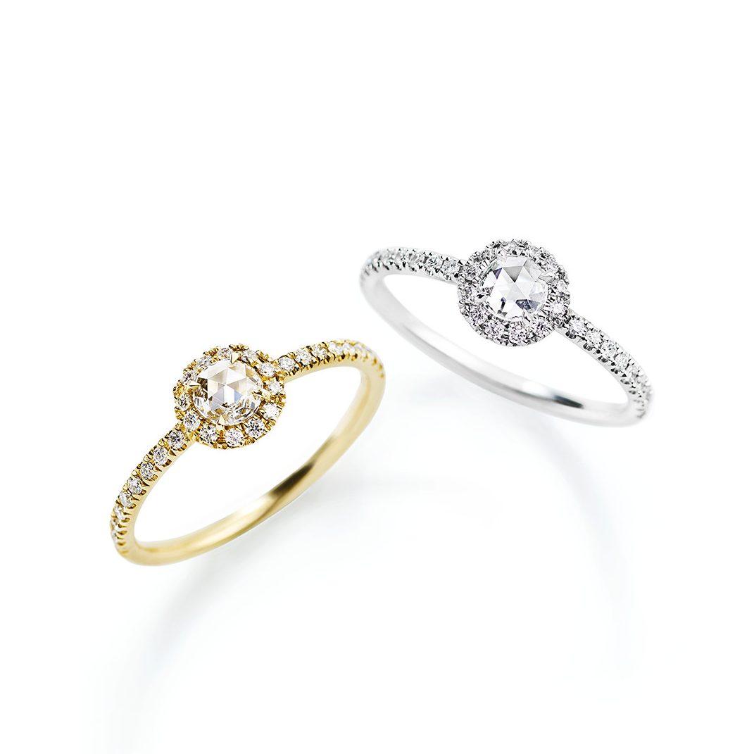 ゴージャス 婚約指輪のヴィヴィアンローズリング