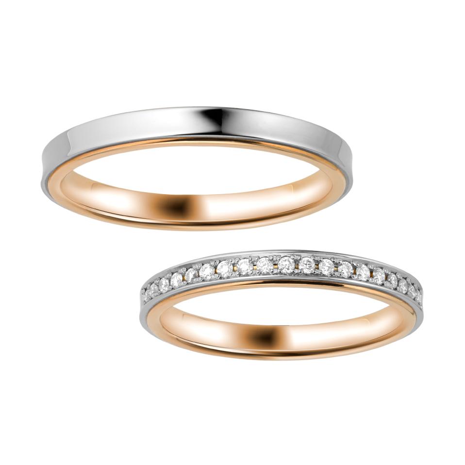 シンプル 結婚指輪のCOLORATO
