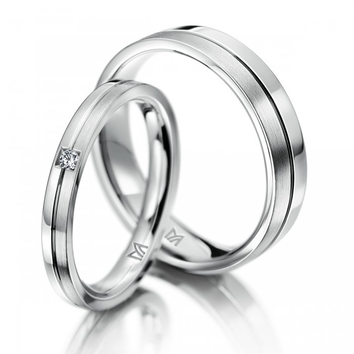 シンプル 結婚指輪のクラシックス - W061 - 127D