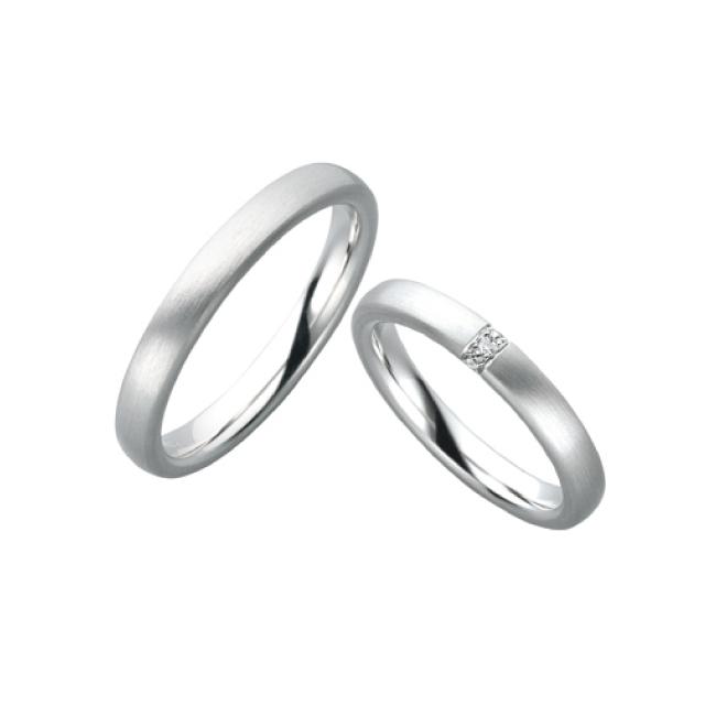シンプル 結婚指輪の28612/3-4/28612/3