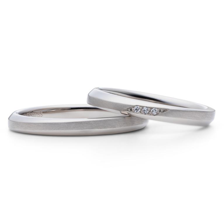 フェミニン 結婚指輪のLa mer -海-