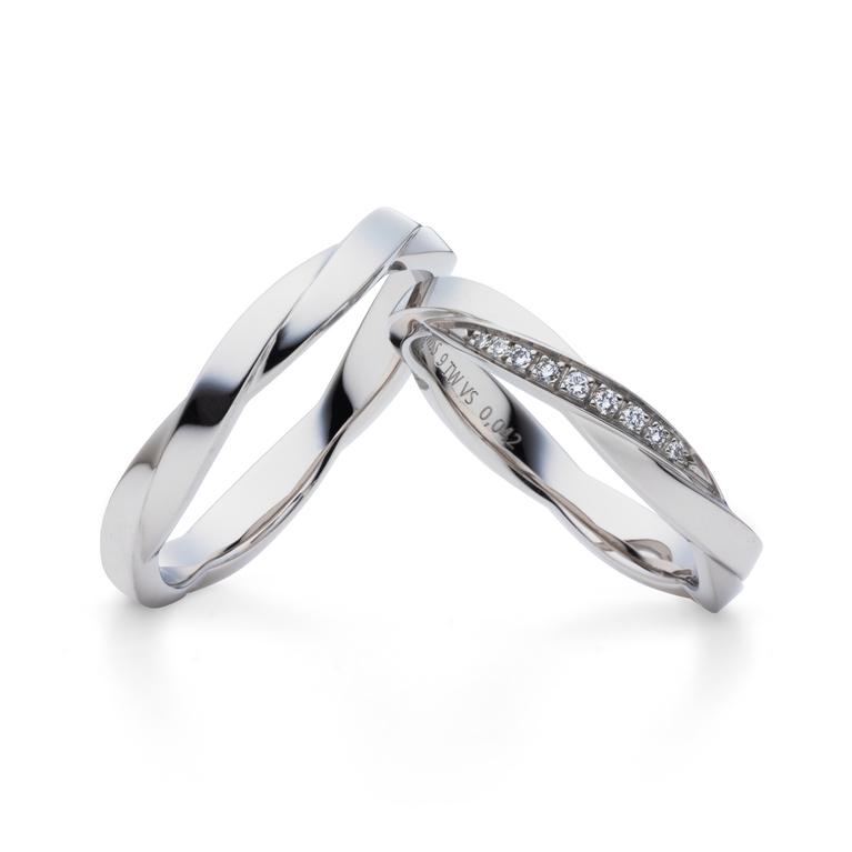 フェミニン 結婚指輪のito -糸-