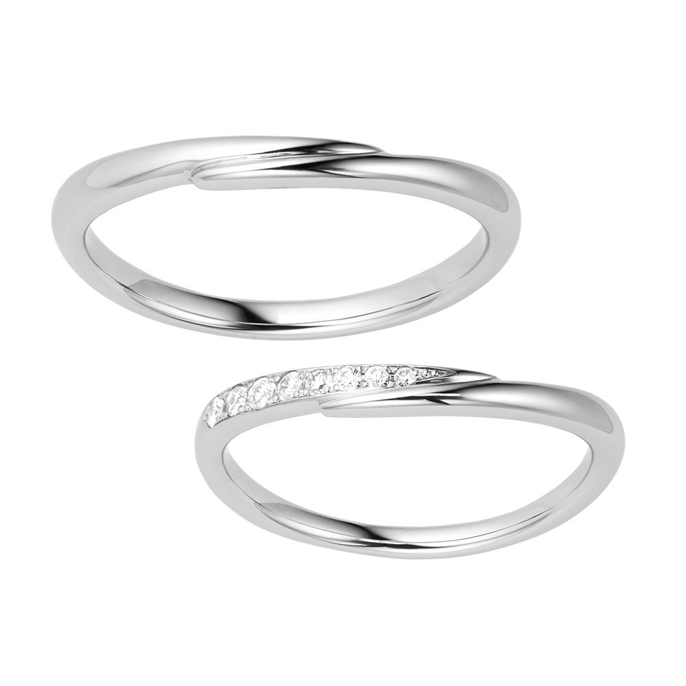 シンプル 結婚指輪のPROMESSA
