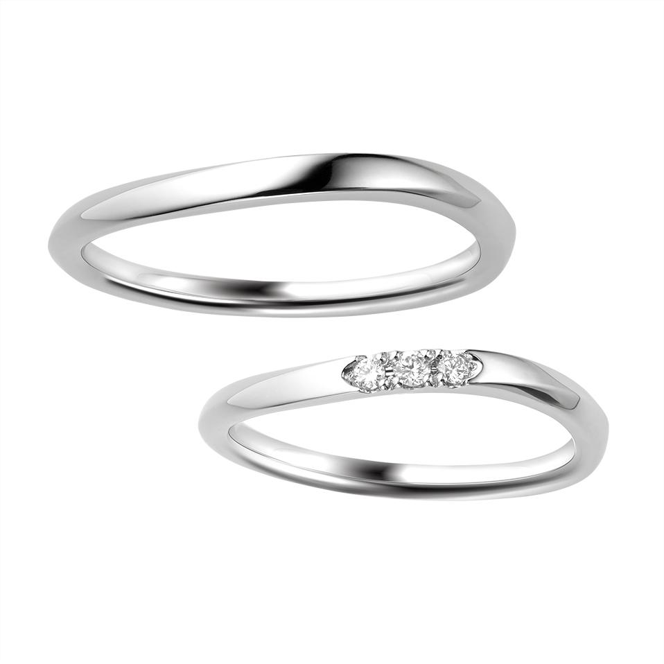 シンプル 結婚指輪のBREZZA