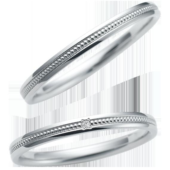 シンプル 結婚指輪のCN-062/CN-061