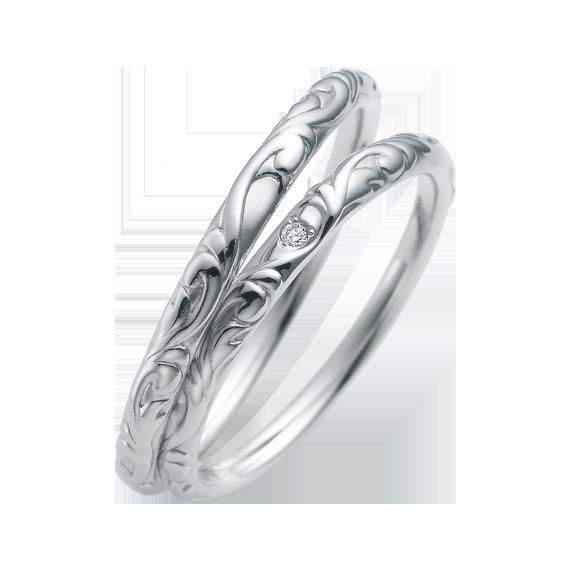 シンプル 結婚指輪のCN-636/CN-637