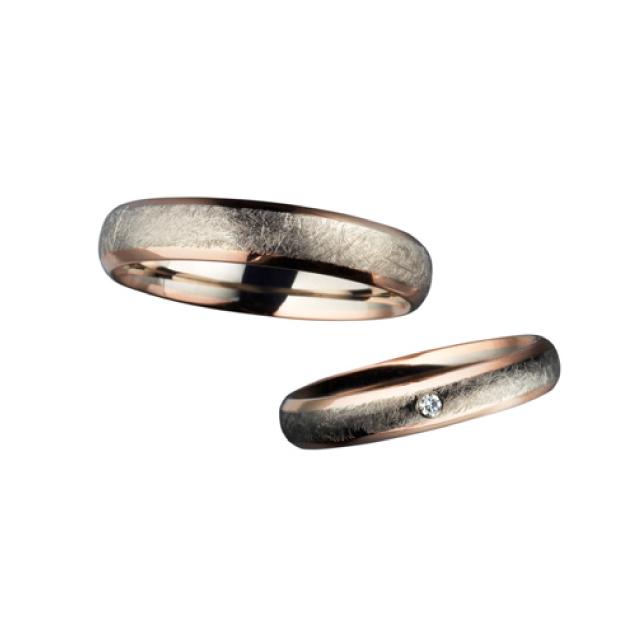 シンプル 結婚指輪のE31100/40-E41100/35