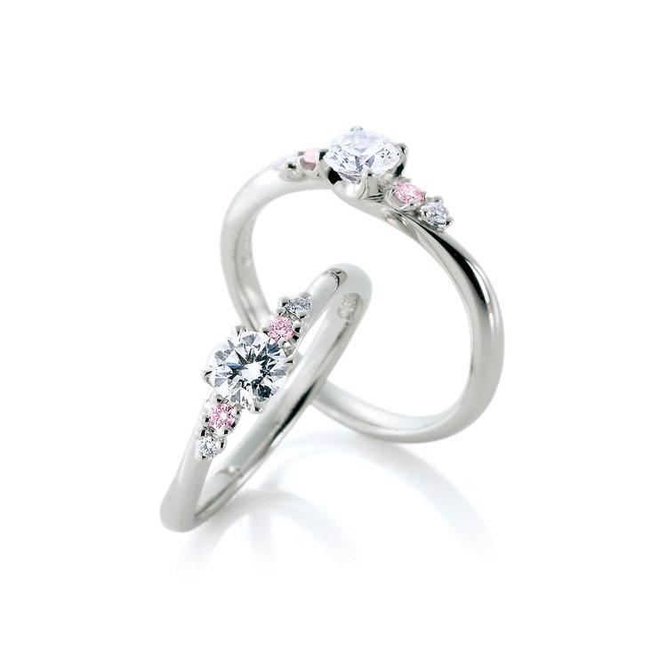シンプル 婚約指輪のレーヴ デュー