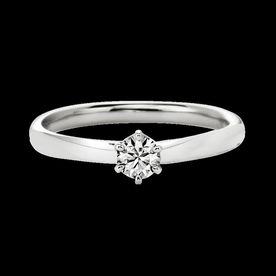 シンプル 婚約指輪のplage