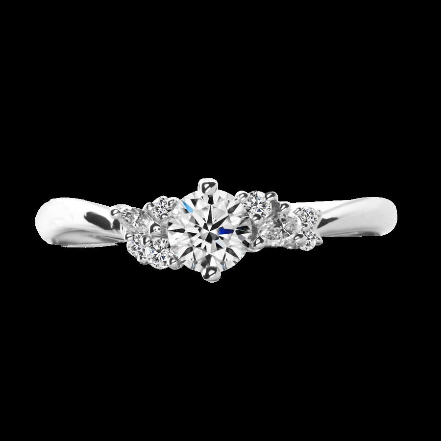 ゴージャス 婚約指輪のサミュゼ