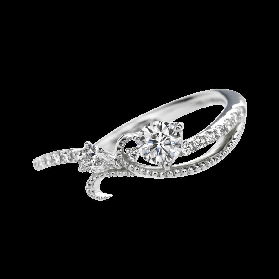 ゴージャス 婚約指輪のtamps heureux