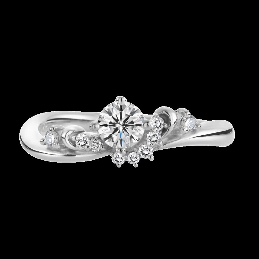 ゴージャス 婚約指輪のヴィーナス