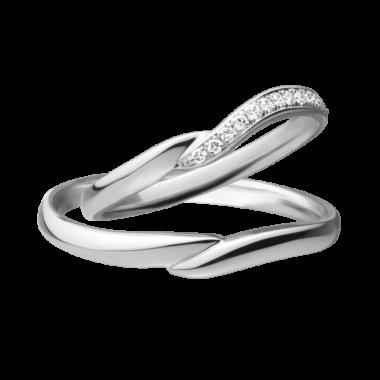 フェミニン 結婚指輪のCalla lily