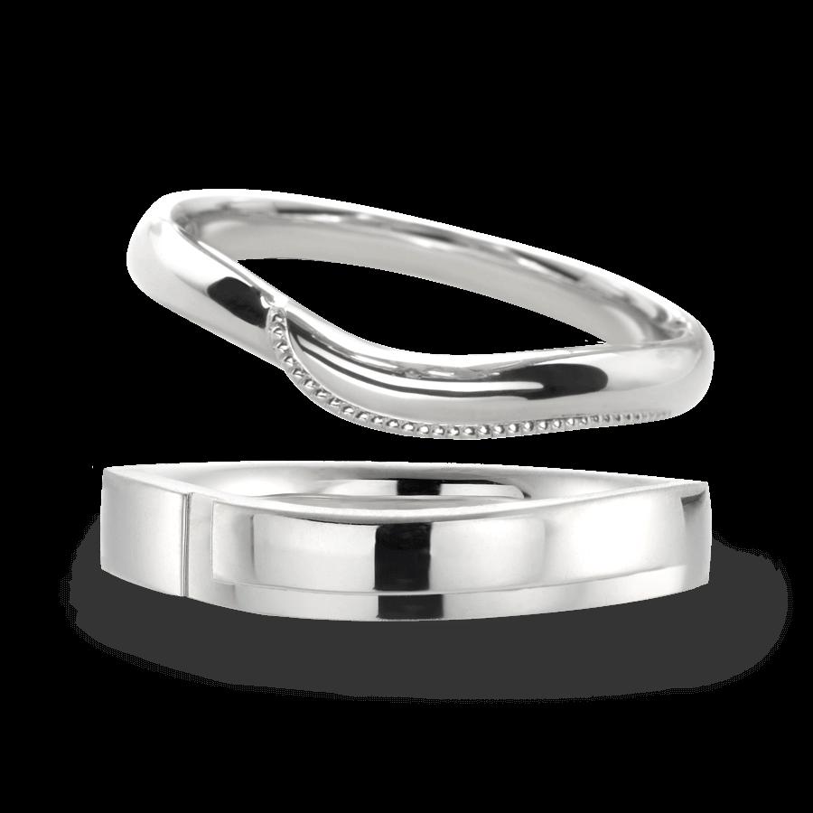 シンプル 結婚指輪のノブレッセ
