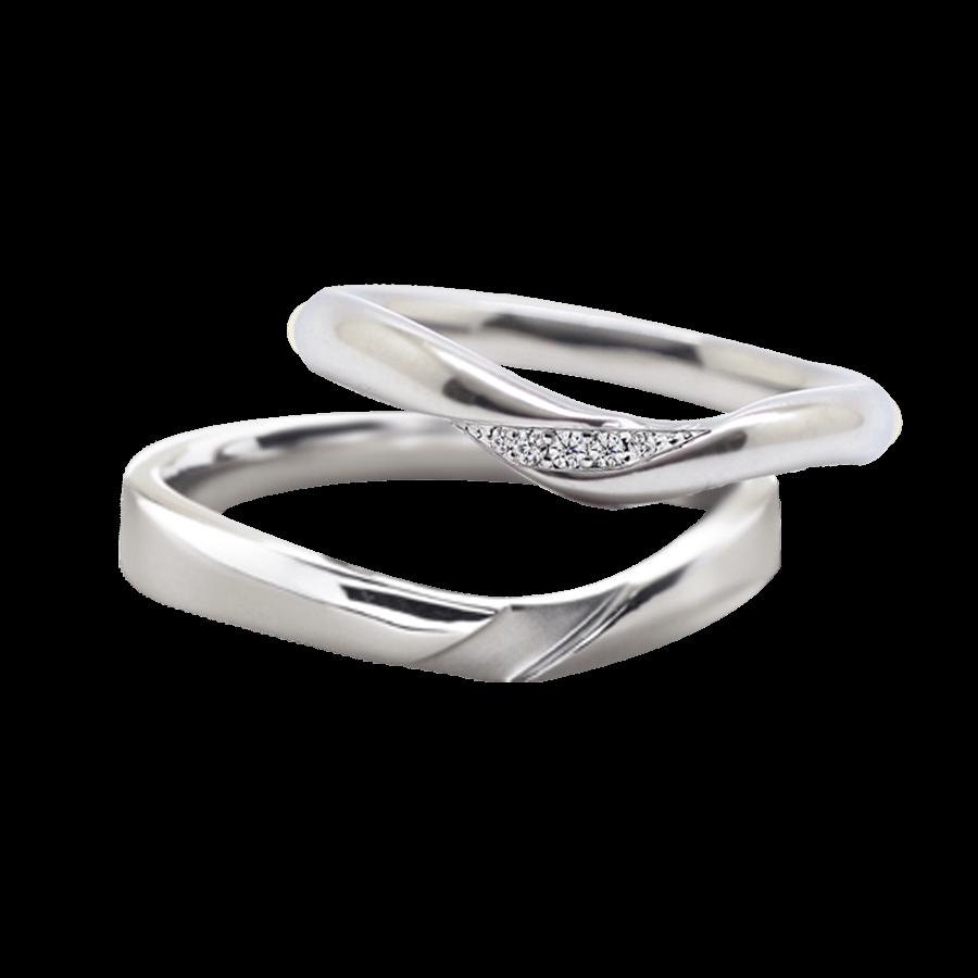 シンプル 結婚指輪のサミュゼ