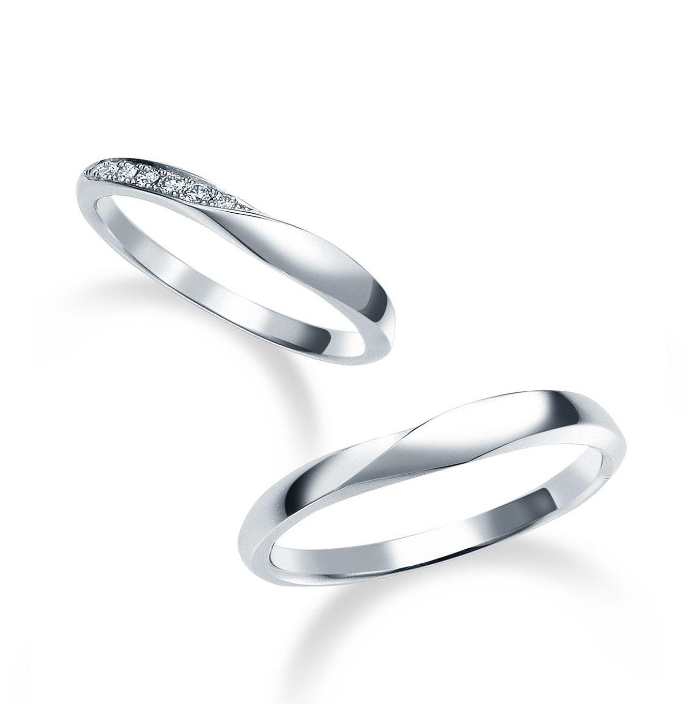 フェミニン 結婚指輪のWRB069_WRA059