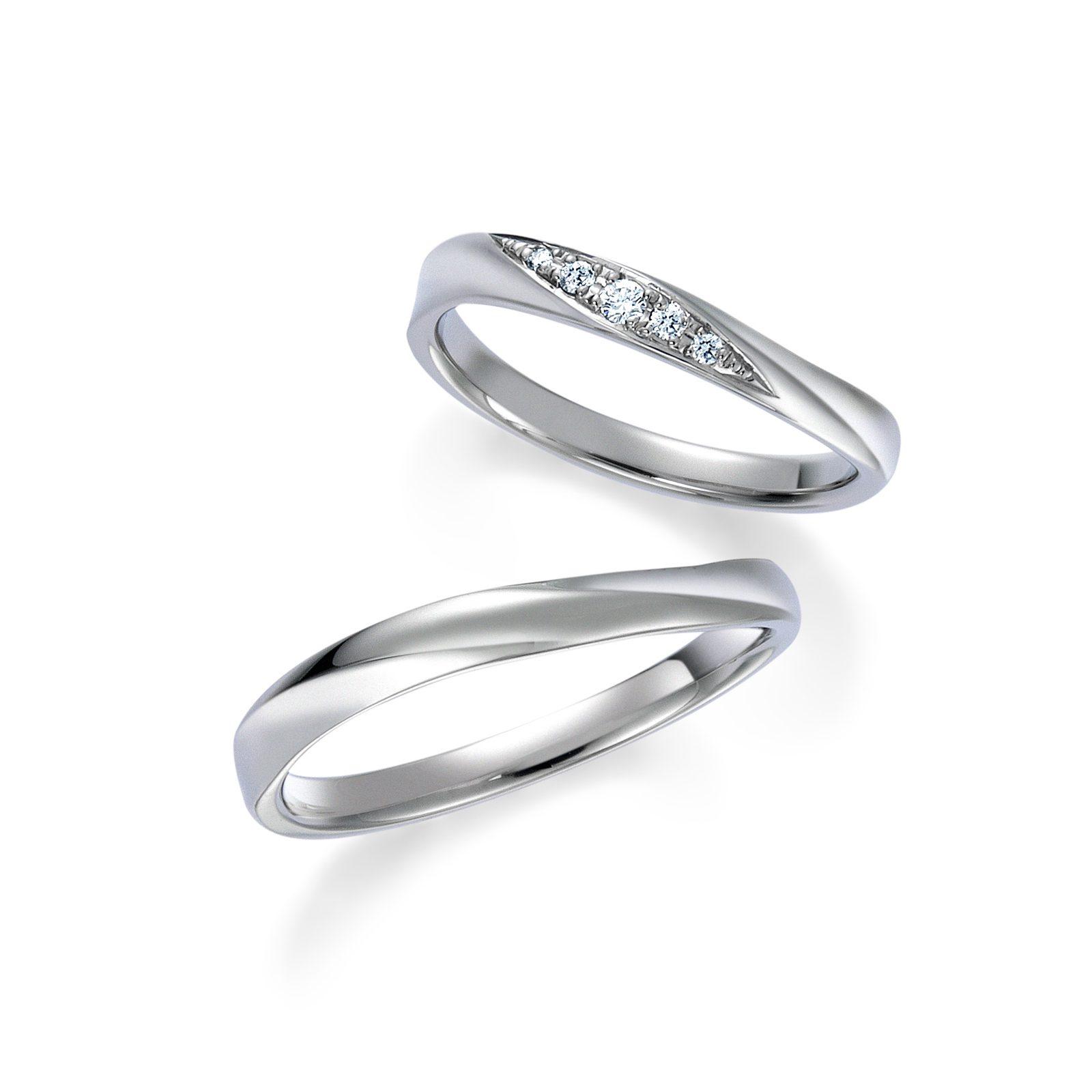 フェミニン 結婚指輪のWRB037_WRA027
