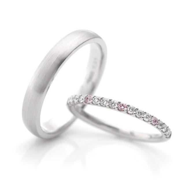 シンプル,フェミニン 結婚指輪のセリーズ