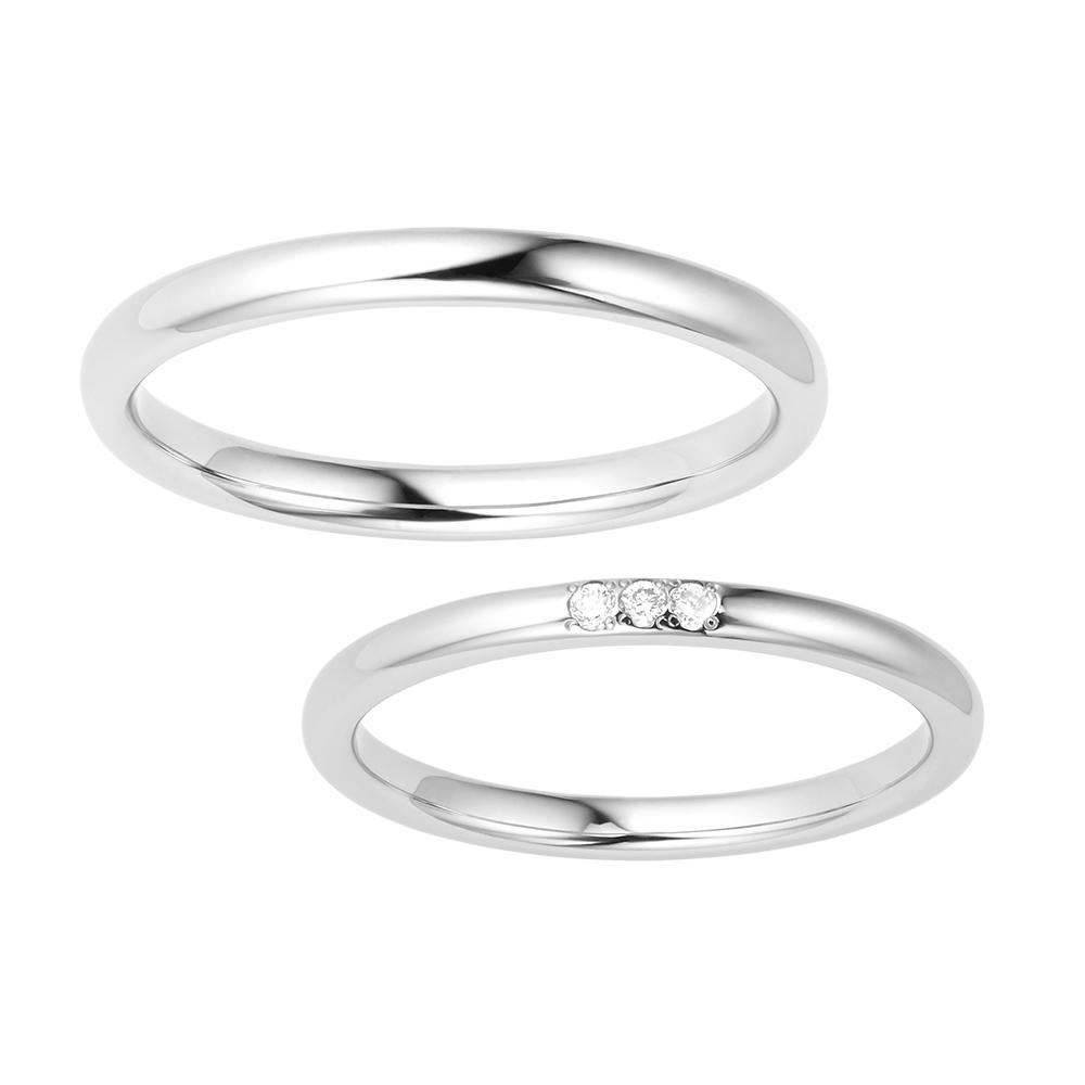 シンプル 結婚指輪のMORBIDO