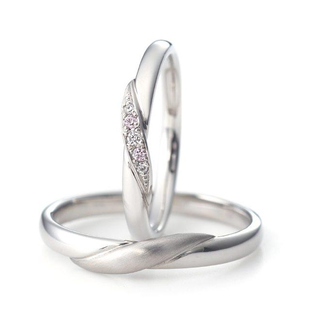 シンプル,フェミニン 結婚指輪のエスペランサ
