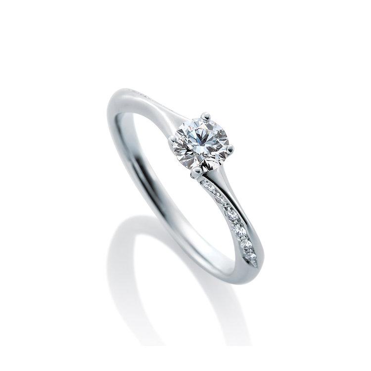 シンプル 婚約指輪のノエル ブラン