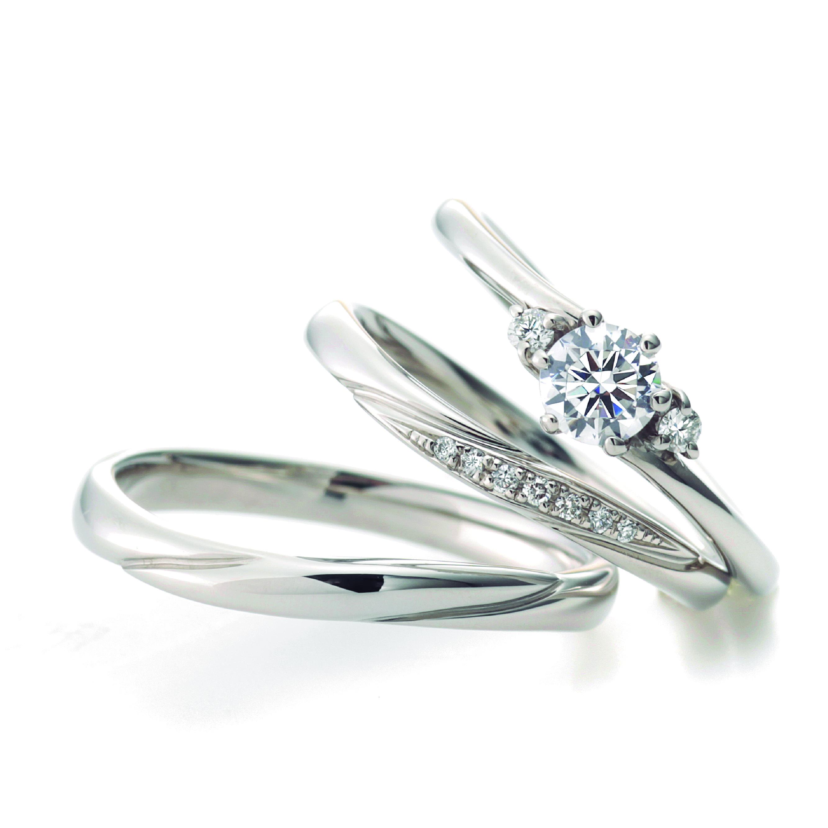 フェミニン,ゴージャス 結婚指輪のリリック