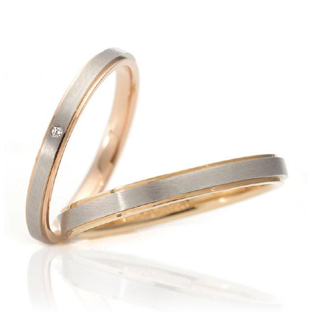 シンプル 結婚指輪のカサネノワ
