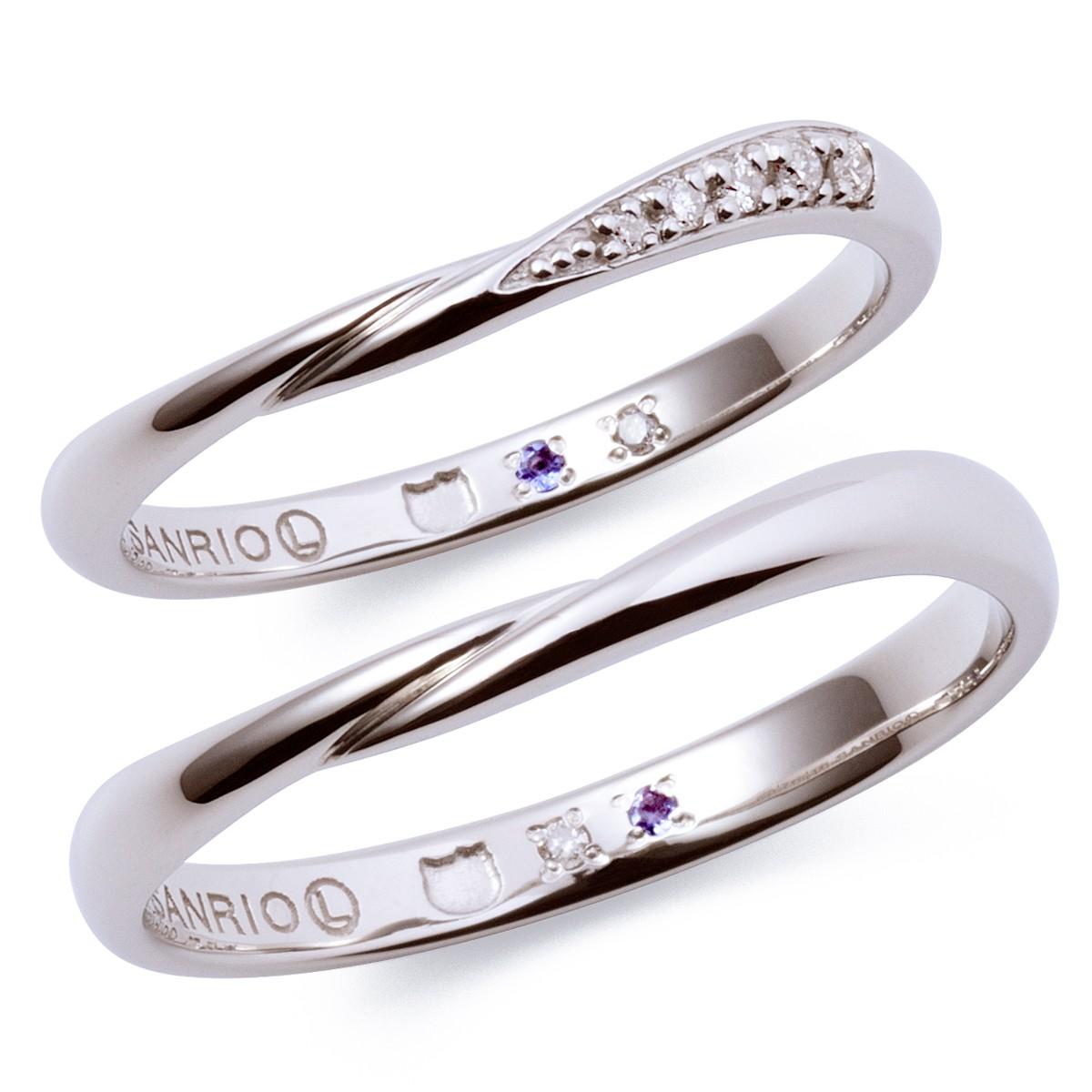 シンプル 結婚指輪のKT-7061117042-7061117052