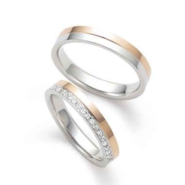 個性的 結婚指輪の八千代 (やちよ)