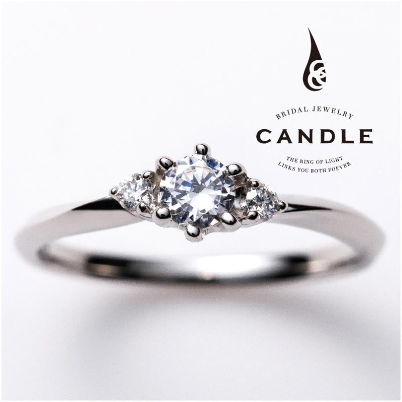 シンプル,フェミニン 婚約指輪のスパイラル