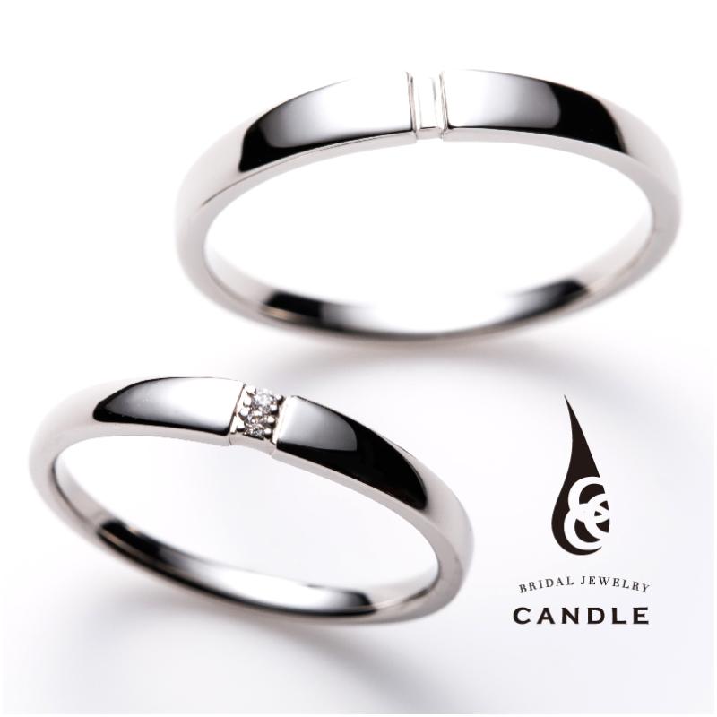 シンプル,フェミニン 結婚指輪のロール
