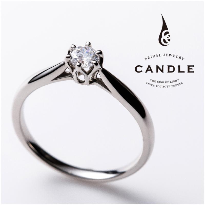 シンプル,フェミニン 婚約指輪のラウンド