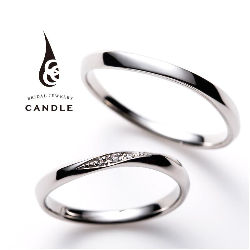 シンプル,フェミニン 結婚指輪のスパイラル