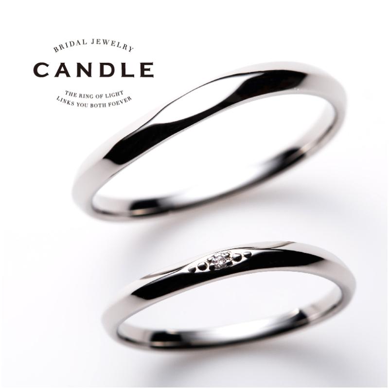 シンプル,フェミニン 結婚指輪のツイスト