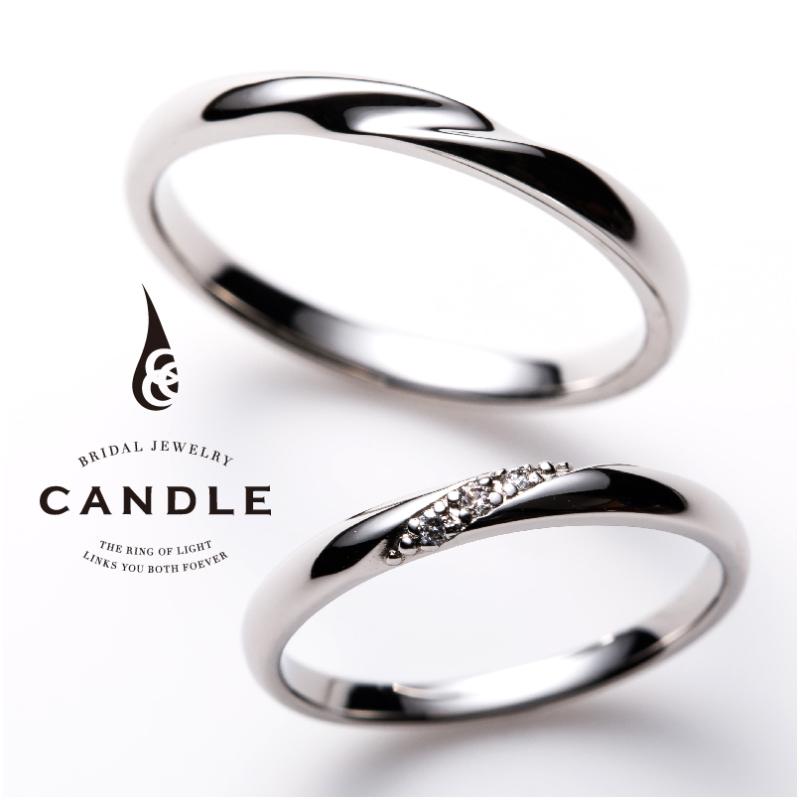 シンプル,フェミニン 結婚指輪のボーティブ
