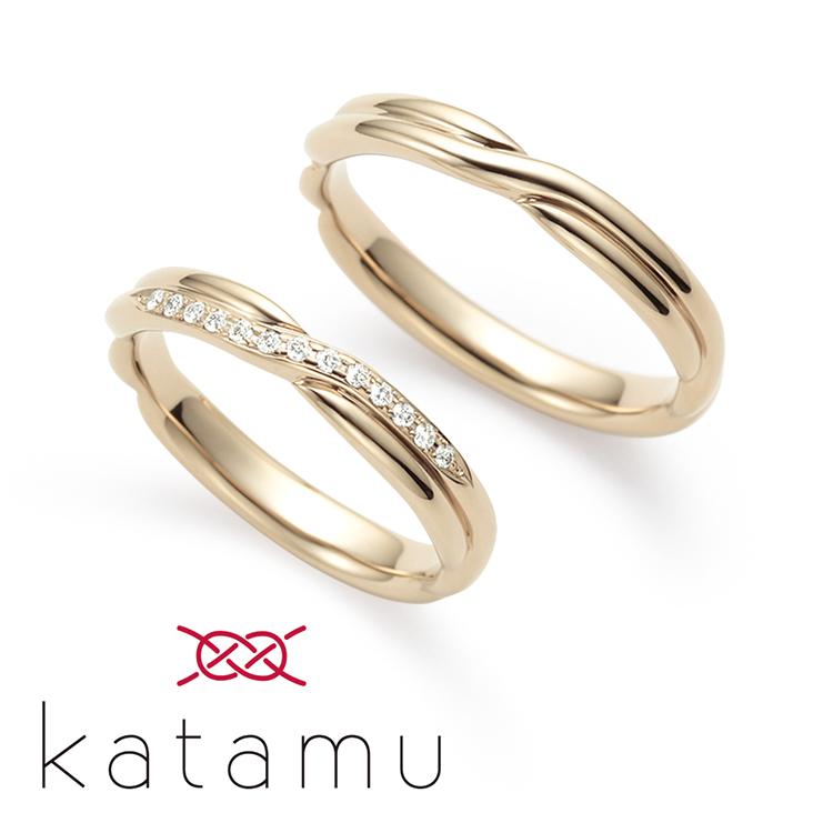 【GRACIS BRIDAL札幌北2条店】ふたりの縁を固む指輪 Katamu