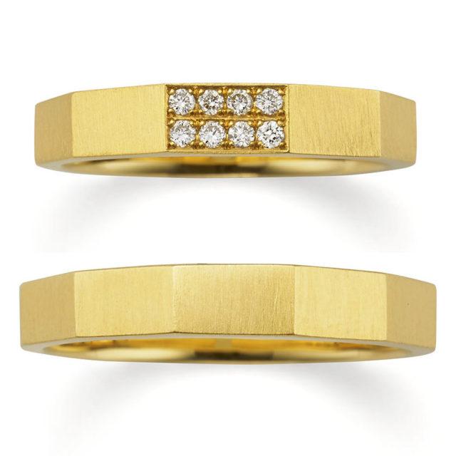 アンティーク,個性的 結婚指輪のサファリ